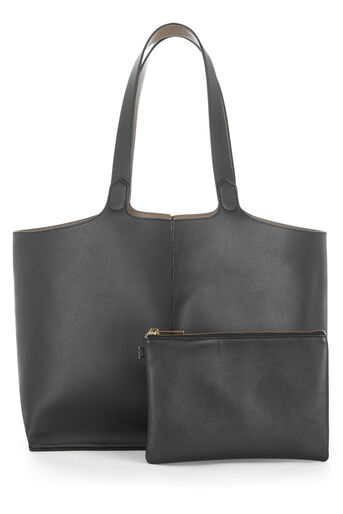 Warehouse, Reversible Shopper Bag Black 0