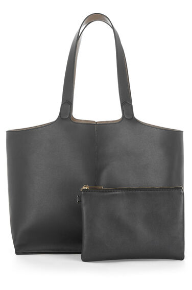 Warehouse, Reversible Tote Bag Black 0