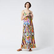 Warehouse, RAINBOW IKAT MAXI DRESS Multi 2