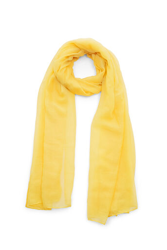Warehouse, PLAIN LIGHTWEIGHT SCARF Yellow 0