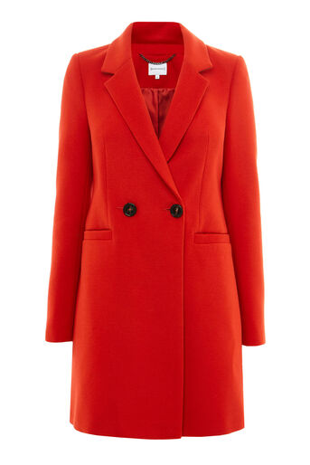 Warehouse, Clean Crombie Bright Red 0
