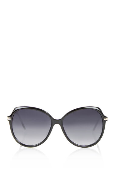 Warehouse, 70s Sunglasses Black 0