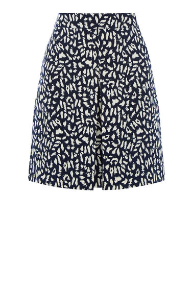 Warehouse, ANIMAL PRINTED SKIRT Multi 0