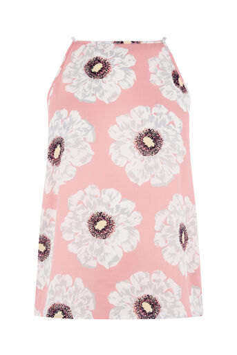 Warehouse, MELODY FLORAL CAMI Pink Pattern 0