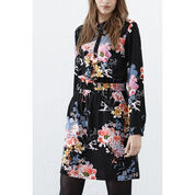 Warehouse, Garden Floral Shirt Dress Multi 3