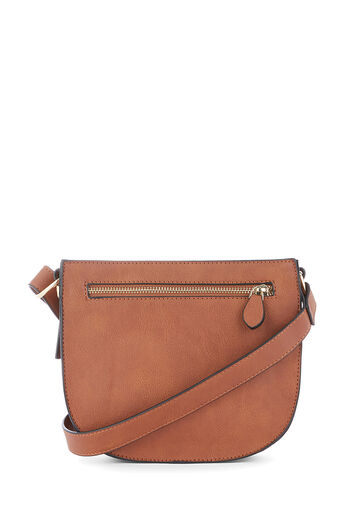 Warehouse, SQUARE CASUAL CROSSBODY Tan 0