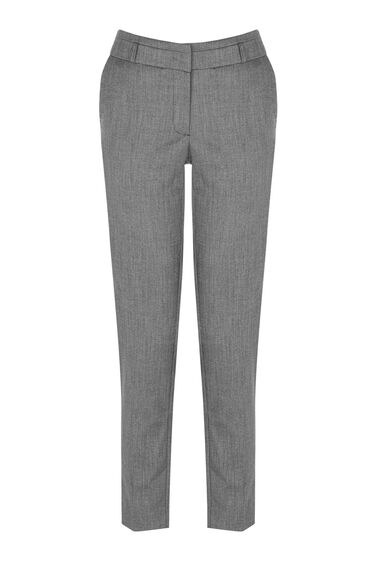 Warehouse, SLIM LEG TROUSERS Dark Grey 0