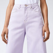 Warehouse, Super Wide Cut Jeans Lilac 4