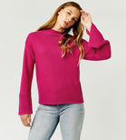 Warehouse, OTTOMAN RIB JUMPER Bright Pink 4