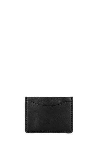 Warehouse, LEATHER CARDHOLDER Black 0