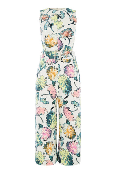 Warehouse, DECOUPAGE JUMPSUIT Multi 0