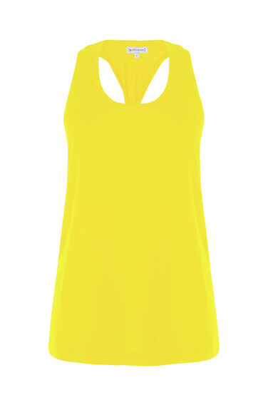 Warehouse, TWIST BACK VEST Yellow 0