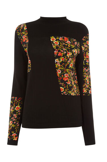 Warehouse, PATCHWORK PRINT JUMPER Multi 0