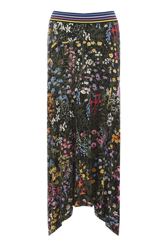 Warehouse, WILD GARDEN SKIRT Multi 0