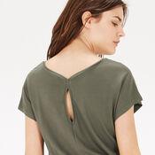 Warehouse, T SHIRT DRESS Khaki 4