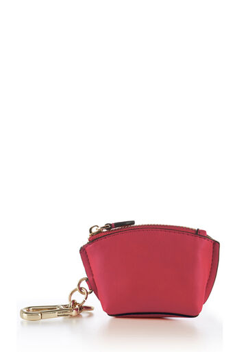 Warehouse, KEYRING PURSE Bright Pink 0