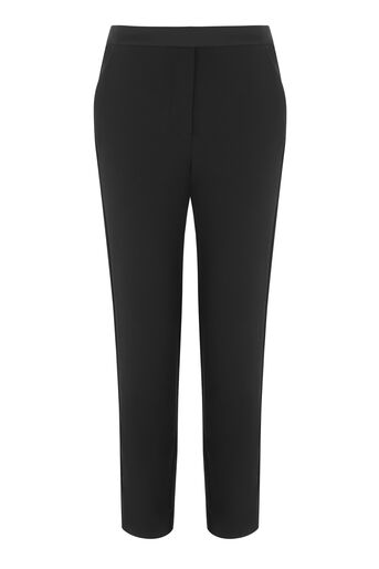 Warehouse, TUXEDO TROUSERS Black 0