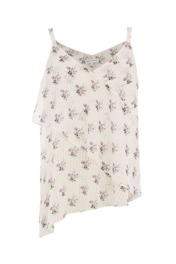 Warehouse, LILAC BUNCH CAMI Neutral  Print 0