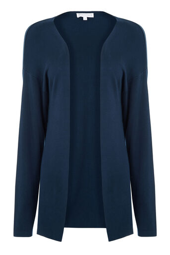 Warehouse, EDGE TO EDGE CARDI Navy 0