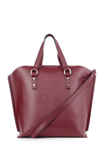 Warehouse, HARDWARE CURVE TOP SHOPPER Berry 0