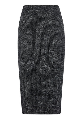 Warehouse, TWEED SKIRT Dark Grey 0