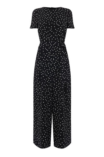 Warehouse, POLKA DOT PRINT JUMPSUIT Multi 0