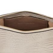 Warehouse, CHAIN STRAP CROSS BODY BAG Grey Pattern 3