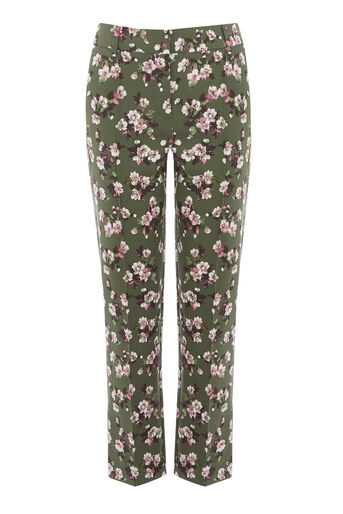 Warehouse, MAE FLORAL TROUSERS Multi 0