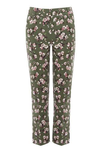 Warehouse, Pantalon à imprimé floral Mae Multicolore 0