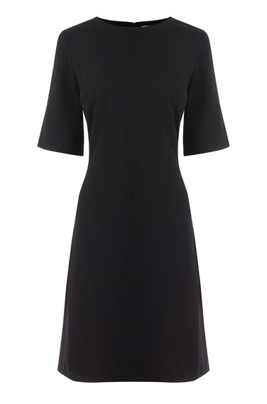 Warehouse, PONTE DRESS Black 0