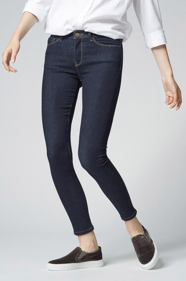 Warehouse, The Skinny Cut Dark Wash Denim 0
