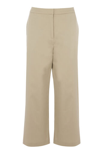 Warehouse, COTTON CULOTTES Stone 0
