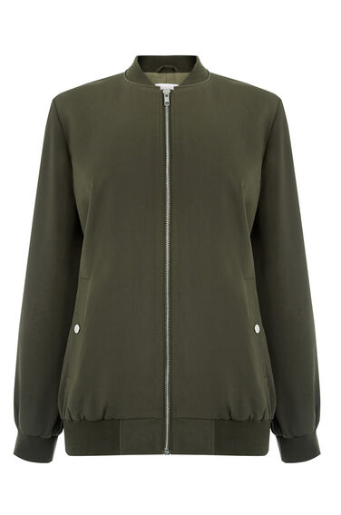 Warehouse, Bomber Jacket Khaki 0