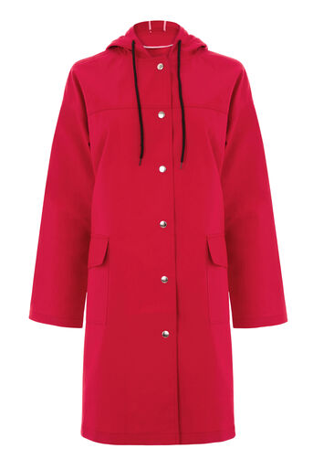 Warehouse, Pocket Detail Anorak Bright Red 0