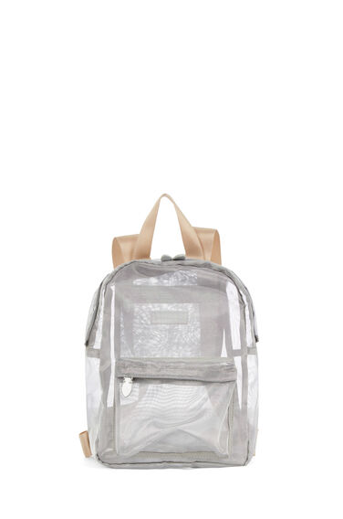Warehouse, MESH RUCKSACK Silver Colour 0