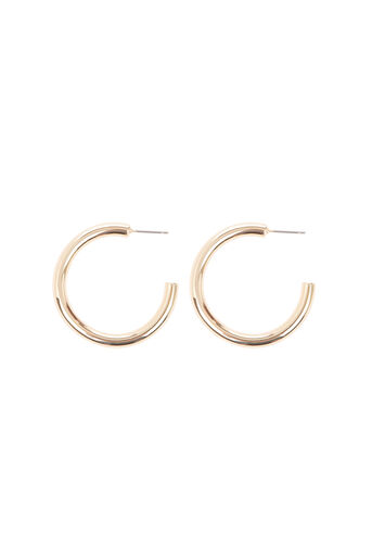 Warehouse, Chunky Hoop Earring Gold Colour 0