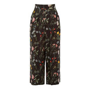 Warehouse, Scatter Floral Culotte Black Pattern 0