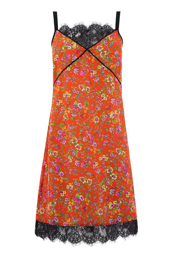 Warehouse, SIDNEY FLORAL LACE DRESS Multi 0