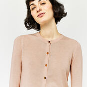 Warehouse, CREW CARDI Light Pink 4