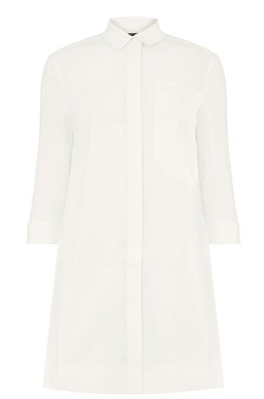 Warehouse, POCKET DETAIL TUNIC White 0