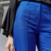 Warehouse, STITCH SEAM TROUSER Bright Blue 4