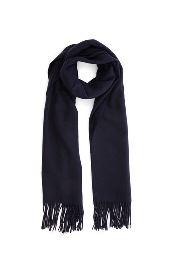Warehouse, Wool Scarf Navy 0