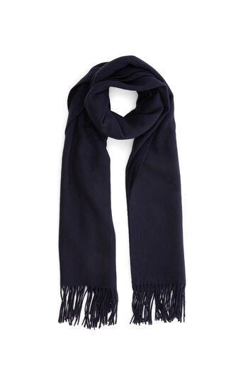Warehouse, Wollen sjaal Marineblauw 0