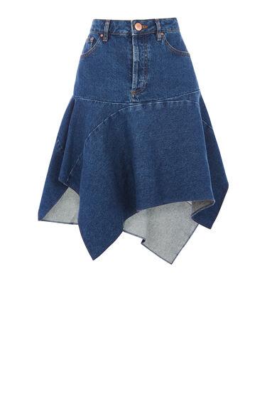 Cut Out Asymmetric Skirt