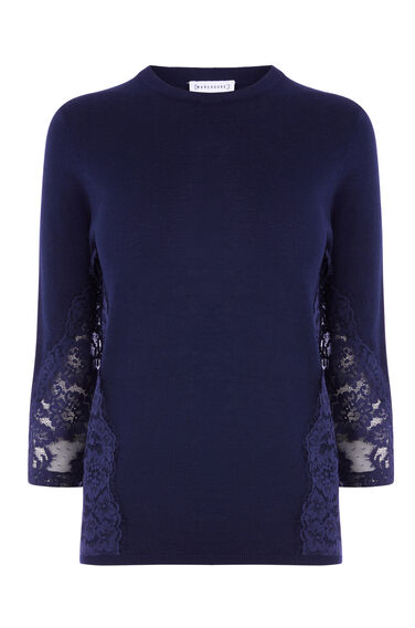 LACE SIDE JUMPER