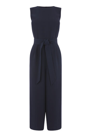 OPEN BACK CULOTTE JUMPSUIT