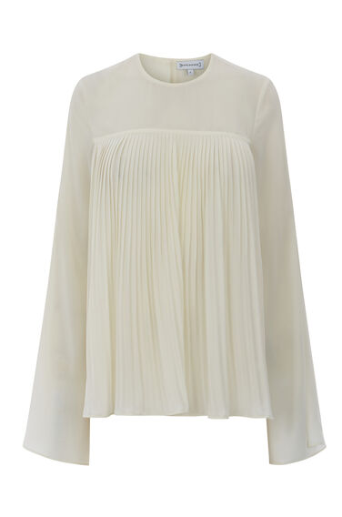 PLEAT FRONT TOP