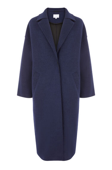 LONG BONDED SWING COAT