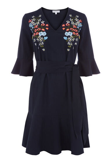 FREIDA EMBROIDERED DRESS