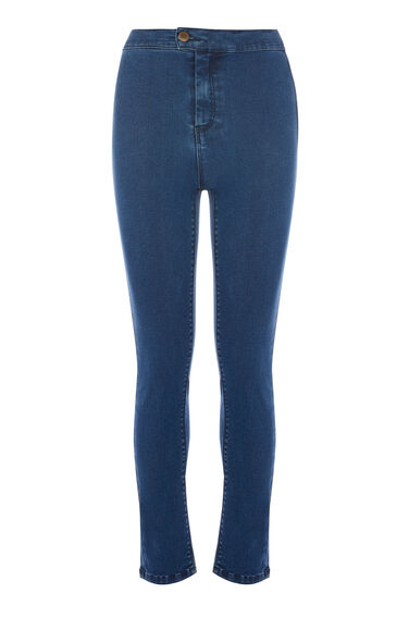 CLEAN HIGH RISE SKINNY JEANS